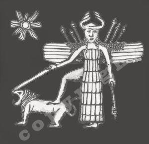 Inanna, ca 2200 BCE